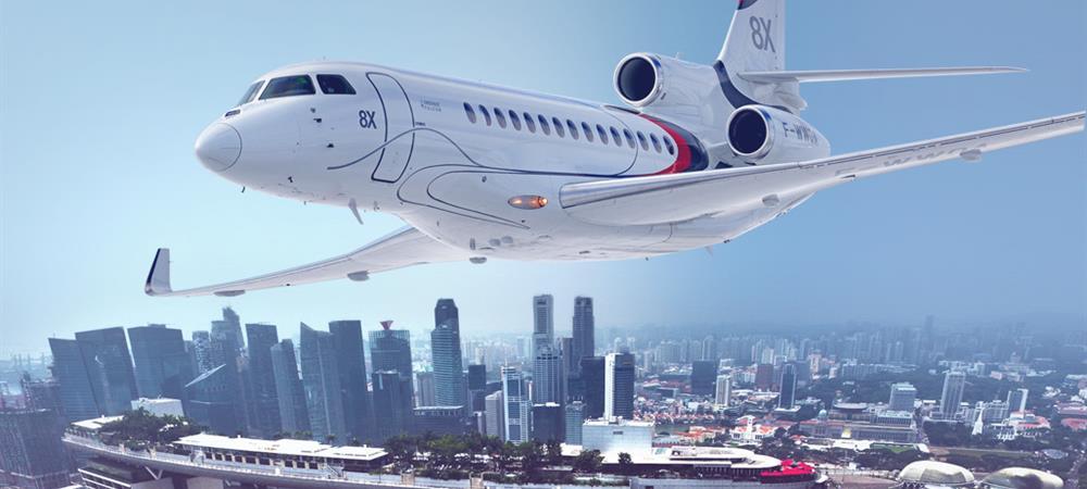 Les jets privés de Dassault Aviation : la famille Falcon